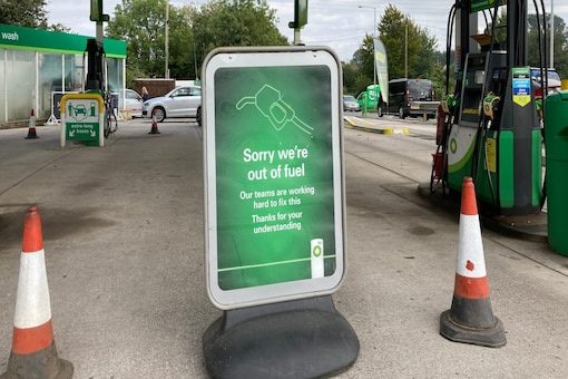 Fuel stations across UK have been hit by a supply crunch