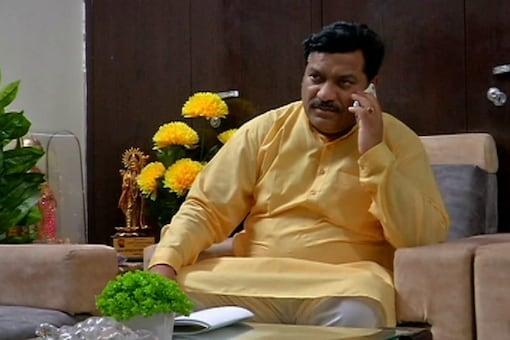 Rajasthan Congress MLA Ved Prakash Solanki (Image: News18 Hindi)