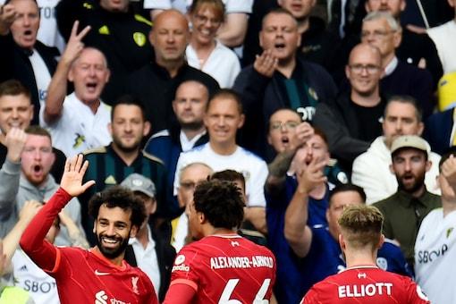 Liverpool's Mohamed Salah (Reuters)