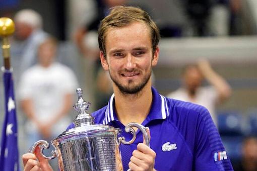 Daniil Medvedev won his maiden Grand Slam title (AP)