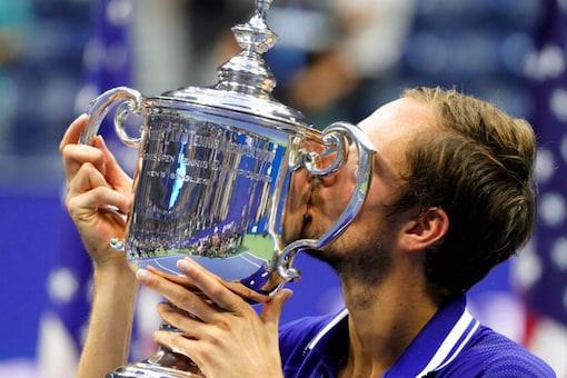 Daniil Medvedev won the US Open (AP)