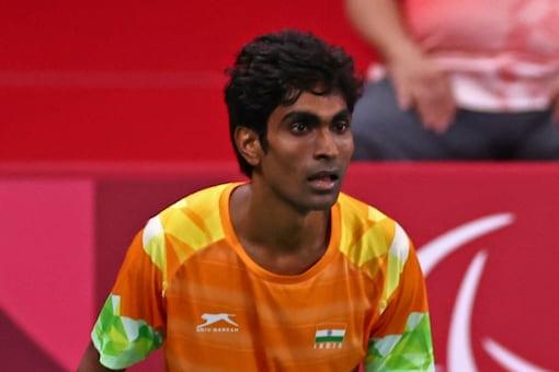 Indian para badminton star Pramod Bhagat (Twitter)