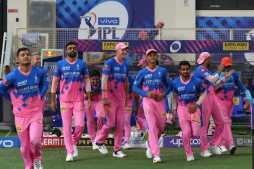 Rajasthan Royals players entring on the field (IPL/BCCI)