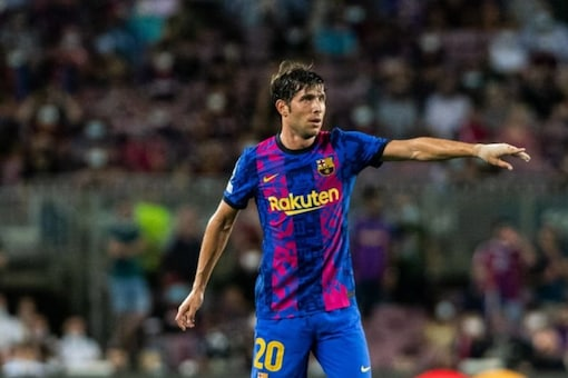 Barcelona's Sergi Roberto (Twitter)