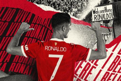 Cristiano Ronaldo will wear No. 7 at Manchester United (Twitter)