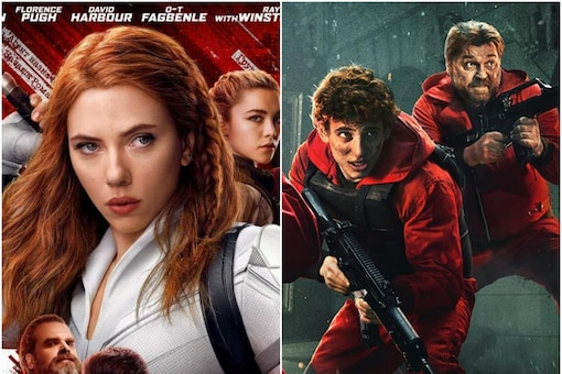 Black Widow and Money Heist Part 5 Vol 1 are among new OTT releases this year.