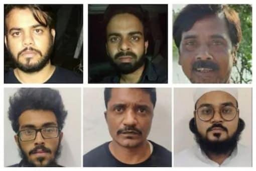 The arrested were planning to execute a series of bomb blasts in Delhi and Uttar Pradesh during the festive season. (Image: News18)