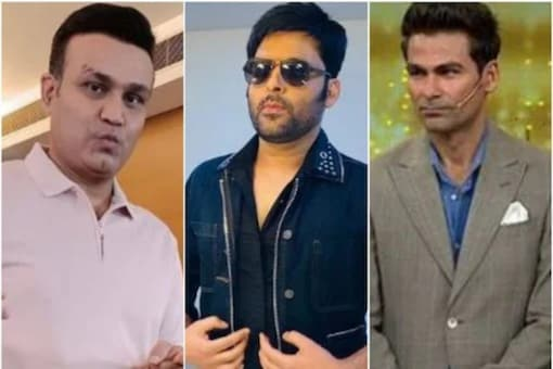 Virender Sehwag and Mohammed Kaif arrived on The Kapil Sharma Show