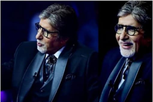 When Amitabh asked the meaning of the word, Aman let the secret out.
