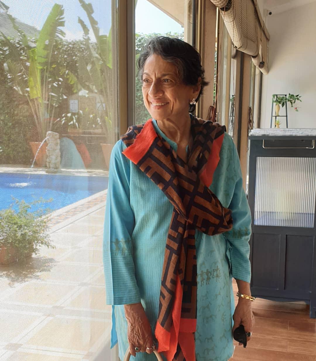 Veteran actress Tanuja Mukherjee, popularly known as Tanuja, celebrates her birthday today, on September 23. (Image: Instagram)