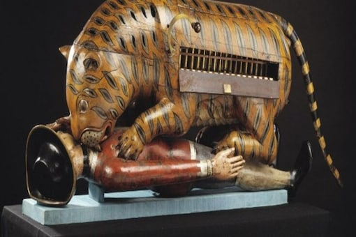 The famous 'tiger' that was taken from Tipu Sultan's palace is now a part of the collection of the Victoria and Albert Museum in London. (Photo: V&A Museum)