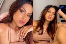 Nia Sharma Oozes Sexiness In A Beige Mini Dress, Take A Look At Diva's Hottest Pics