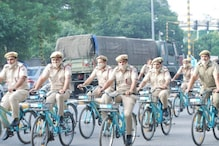 Delhi Fire Service Holds Cyclothon to Spread Awareness About Fire Safety