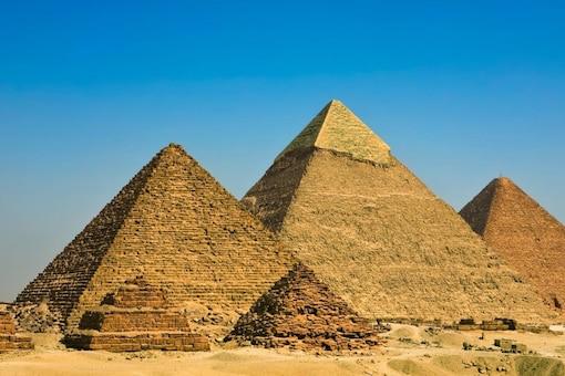 Representative Image showing pyramids of  Giza. Credits: Getty Images via Canva.