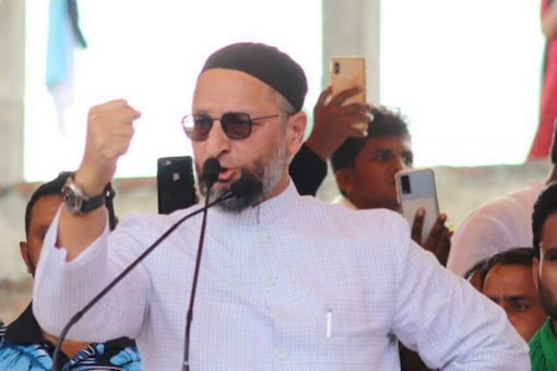 Asaduddin Owaisi said his party has made all booth-level preparations to contest 100 out of the total 403 assembly seats in UP. (Credits: Twitter/ Asaduddin Owaisi)