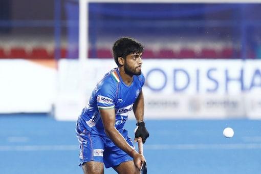 Varun Kumar was a late addition to the Tokyo Olympics squad. (Hockey India Photo)