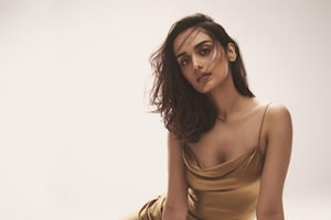 Manushi Chhillar Oozes Hotness As Diva Flaunts Cleavage In Silk Dress, See Her Sexiest Looks
