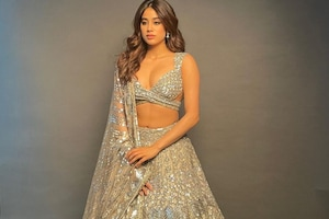 Janhvi Kapoor Dazzles In Sequinned Lehenga, See Jaw-Dropping Beauty's Most Elegant Photos