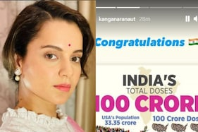 Kangana Ranaut Congratulates Indian Government For Administering 100 Crore Vaccine Shots
