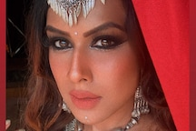 Nia Sharma Posts a Killer Selfie As She Shoots for Navratri Special Song; Photo Goes Viral