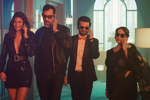 A Still From Call My Agent: Bollywood's Trailer