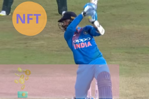 Dinesh Karthik sends Soumya Sarkar's delivery for a flat six in 2018's Nidahas Trophy finals. (Screengrab from Sri Lanka Cricket / YouTube)
