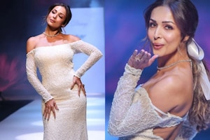 Malaika Arora Flaunts Uber Hot Body As Diva Walks The Ramp In A Bridal Gown, See Pics