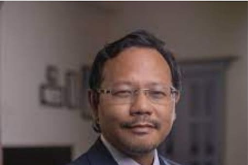 James Sangma had recently announced in Hyderabad that the Meghalaya government plans to produce leather using pineapples found abundantly in the hilly state. (Photo: Facebook)