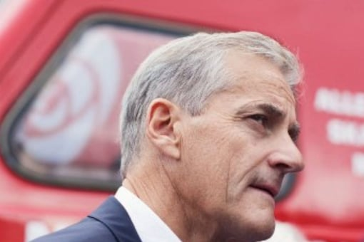 Jonas Gahr Stoere took over after Erna Solberg was ousted in the September 13 election after two four-year terms. (Image: AFP)