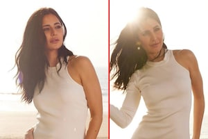 Katrina Kaif Flaunts Her Curves In Plain White Dress, See The Actress Amping Up Her Style Game