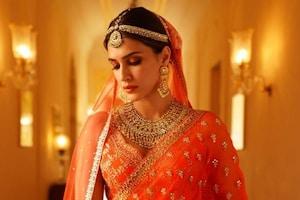 Kriti Sanon Shines Bright In Orange Wedding Lehenga, See The Diva's Gorgeous Bridal Photoshoots