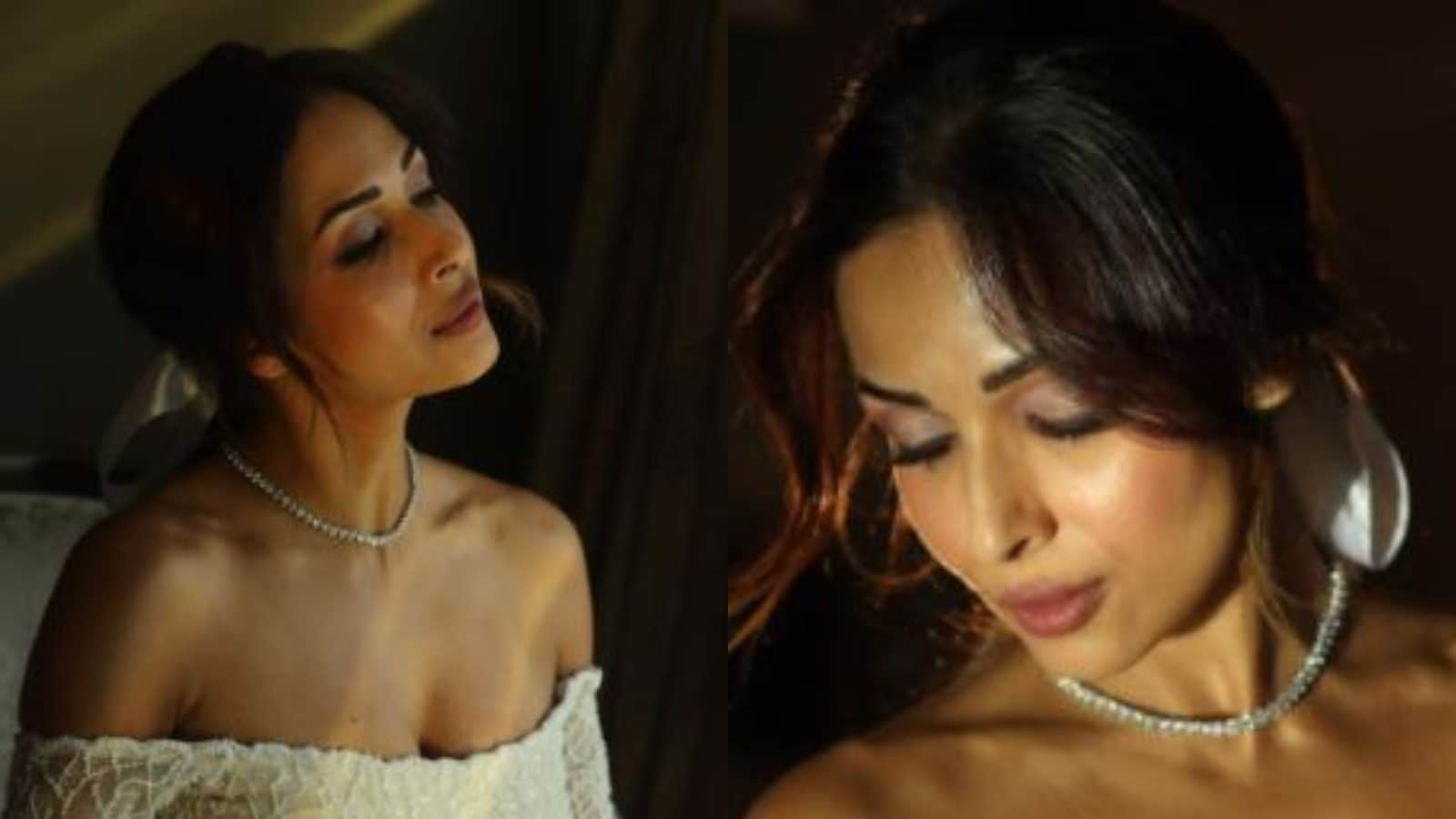Malaika Arora Oozes Oomph in Bridal Gown as She Walks the Ramp, See Photos