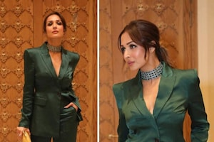 Malaika Arora Looks Uber Chic In Tailored Pantsuit, Check Out The Diva's Sexy Pictures