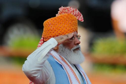 PM Narendra Modi had announced the Rs 100 lakh-crore Pradhan Mantri Gatishakti National Master Plan in his Independence Day speech this year. (REUTERS/Adnan Abidi)