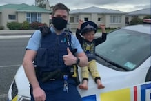 4-year-old New Zealand Boy Calls Police Over to Show off His Toy Collection