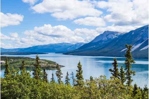 Yukon, Canada is renowned as the Land of the Midnight Sun, thanks to its magnificent sky and endless summer light (Image: Shutterstock)