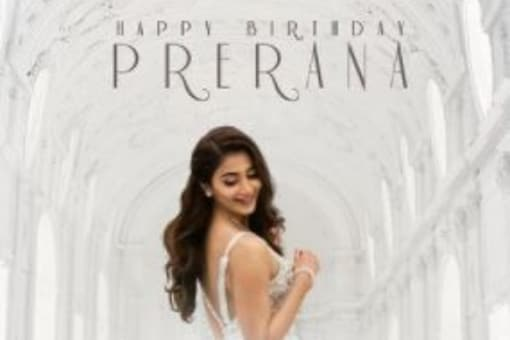 The best gift came from her Radhe Shyam co-star, actor Prabhas who shared a new look poster from the film.