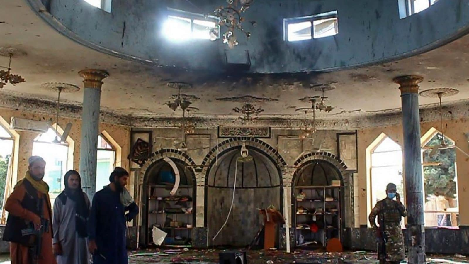 Image Islamic State Claims Killing 300 Shia Worshippers in Afghan Mosque, Sources Say Numbers 'Exaggerated' - News18