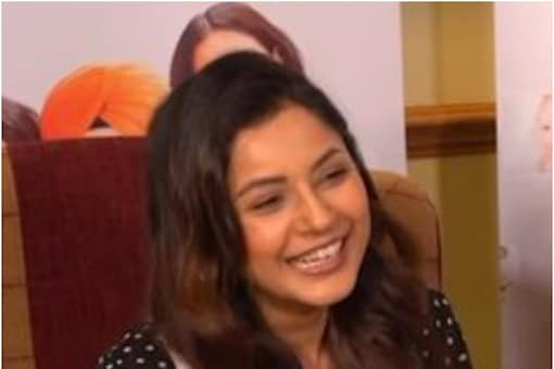 Shehnaaz Gill seen promoting upcoming Punjabi feature film Honsla Rakh