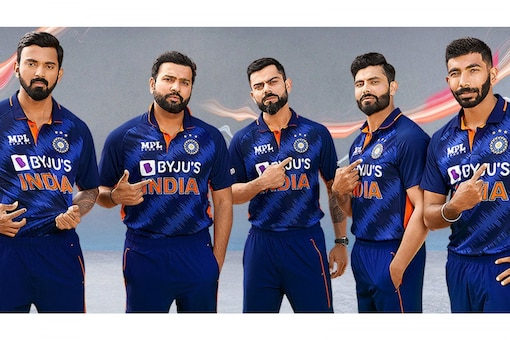 Team India official jersey for ICC T20 World Cup 2021 (BCCI)