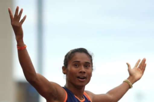 Indian sprinter Hima Das (Twitter)