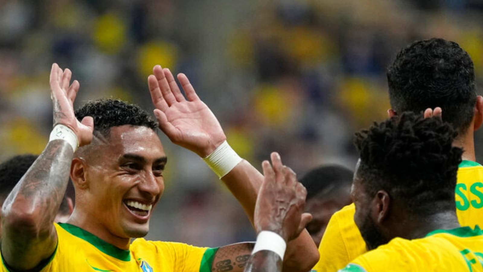 World Cup Qualifier: Raphinha Stars as Brazil Cruise Past Uruguay 4-1