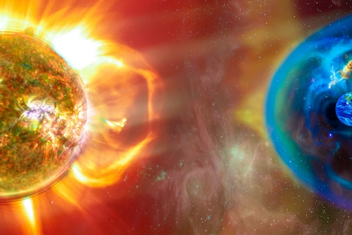 Sun's uppermost atmosphere, known as Corona, produces these gushes of charged particles that make up the solar winds.(Credits:Shutterstock)