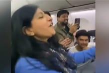 Woman Starts Singing 'Saj Rahi Gali' on Flight, Other Passengers Join In