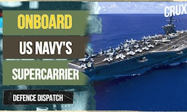 What Makes Supercarrier USS Carl Vinson the US Navy's Fortress At Sea l Malabar Exercise