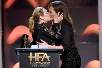 Kate Winslet, Allison Janney Kiss at Hollywood Film Awards
