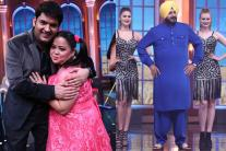 Kapil Sharma Shoots a Special Episode of 'Oye Firangi' on Sony