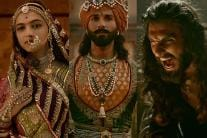 Deepika, Shahid & Ranveer Singh's Regal Avatars from Padmaavat