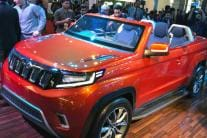 Mahindra Unveils Stinger, Electric Car Concepts at Auto Expo 2018