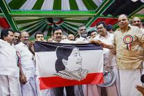 Day in Photos - Mar 15: Dhinakaran's Political Party Launch; Alpine Skiing World Cup; Kolkata Warehouse Fire